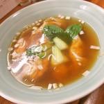 くぬぎ屋 - ミックスワンタンスープ しょうゆ 小
