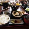 緑苑 - 料理写真:和牛と松茸のほう葉味噌御前 \1,800-