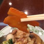 中国料理 慶福楼 - 人参が飾り切りされてる!
