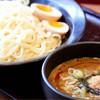 麺屋ここいち - 料理写真:煮たまごつけ麺大盛(激辛)