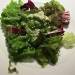 ピッツェリアバー YUME  - ランチセットのサラダ