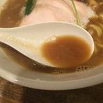 新橋 纏 - 烏賊と鶏白湯のミックススープ