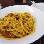 東京MEAT酒場 - 当店自慢の「日本一おいしいミートソース」
