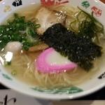 さんわ - 料理写真:伯方の塩ラーメン 580円
