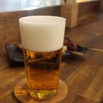 """麦酒大学 - 「二度注ぎ」     """"泡のなめらかな感触""""と""""泡そのものの味わい""""を ちゃんと味わってから""""  """"一度注ぎのビールの醍醐味に突入!"""