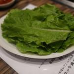 焼肉 ジャンボ - サンチュ