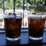 クッカーニャ - アイスコーヒーとアイスティ