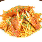 ミア・アンジェラ - 【期間限定】北海道産渡り蟹のトマトソーススパゲティ