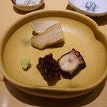 鮨 さいとう - 煮あわび 蛸の桜煮