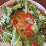 カシェット - 半生スモークサーモン・チーズ・たまご&サラダのガレット 1050円