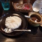ガラムマサラ - 伊豆牛を使ったビーフカレー。