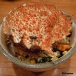 千陽 - 料理写真:花見時期の栗蟹の卵と身をたっぷり使った『栗蟹ぴらふ』