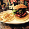 CAFE&BAR AMERICANO - 料理写真:ベーコンチーズバーガー 税抜1,190円