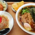 喜味屋食堂 - 喜味屋食堂@宮内(新潟) ラーメンセット