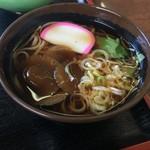 須川高原温泉 - ナメコが大きい蕎麦