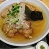 ななふく - 料理写真:限定30食の塩らーめんにロースチャーシューをプラス。¥950