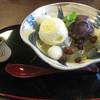 茶屋 花華 - 料理写真:クリームあんみつ(650円)