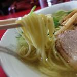 星龍軒 - ストレート麺