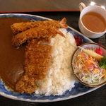 カレー一家 - 御膳カレー(1,200円)