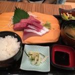 佐海屋旭 - お造り2種盛り定食