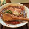 麺ゃ しき - 料理写真:カレーラーメン赤(750円)