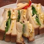 スワン食堂 - エッグサンド