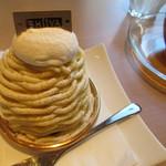 パティスリーシイヤ - 熊本栗のモンブラン(580円)