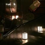 信州長屋酒場 - 階段より2階もあるんですね。