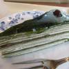 ドトールコーヒーショップ - 料理写真:抹茶と小豆のミルクレープ 390円