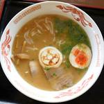 おーしゃん食堂 - 料理写真:銭形ラーメン