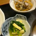 旬菜‐小豆 - 小鉢2種