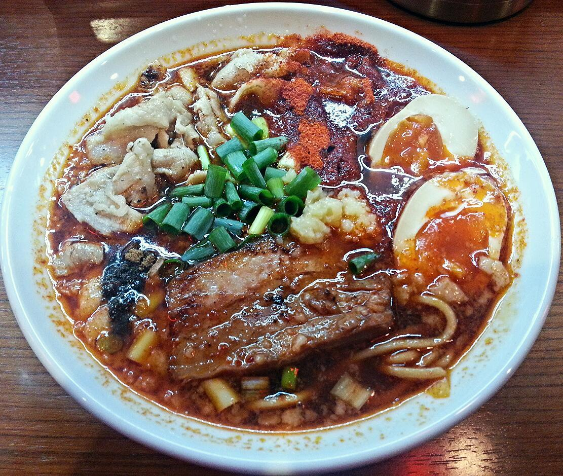 辛口炙り肉ソバ ひるドラ 鶴橋店