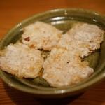 酒場亀甲 - 相当美味しいむきエビプレス焼き