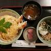 上鳥羽たくみや - 料理写真:天とじ丼(1100円) ミニ蕎麦(冷)350円