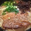 麺屋 勇心 - 料理写真:とんこつラーメン¥500