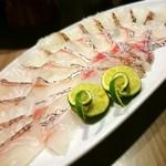 56035527 - 鯛の柚子塩しゃぶ鍋用の鯛 (シルバーコース)