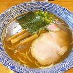 らーめん侘助 - 醤油ラーメン 2016.9月