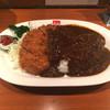 銀座スイス - 料理写真:千葉さんのカツレツカレー。挽肉と擦り野菜のルーです。
