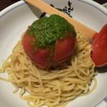 56052821 - 冷やしまるごとトマトつけ麺
