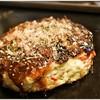 源亀 - 料理写真:海のミックス源亀(げんき)焼き 1000円 ふんわり柔らかななお好み焼きです。