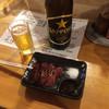 いどや - 料理写真:鳥肝とビール