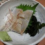玉乃光酒蔵 - 小鯛の笹漬け780円