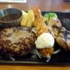 ビッグボーイ - 料理写真:日替わりスペシャルランチ水曜日「ハンバーグ&エビフライとチキンステーキ」
