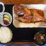 食事処 池田 - キンメ煮付定食 1800円