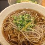 国分寺そば - 温かいお蕎麦