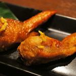 三ツ石ファーム - 手羽先餃子がすごい美味しかった!