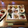 かなざわ - 料理写真:松花堂プレート 寿司、お吸い物付