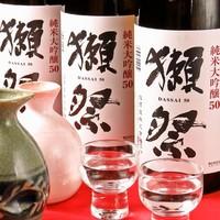 【日本酒好きの店長とスタッフがこだわる常時15種類の日本酒】