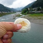こばし餅店 - 吉野川&焼き餅♪