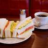 ボンボン - 料理写真:サンドイッチのランチセット。